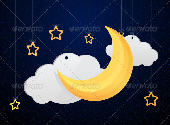 GraphicRiver Night Sky 7500871