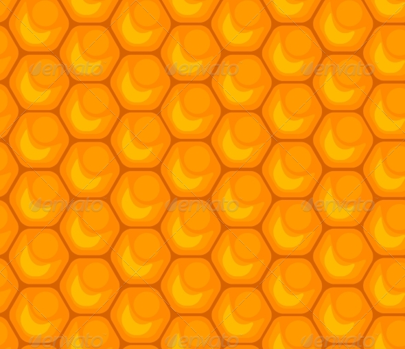 GraphicRiver Honeycomb Seamless Pattern 7500885