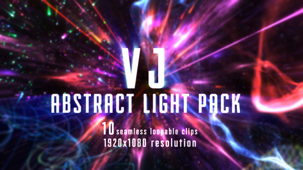 VJ Abstract Light Pack