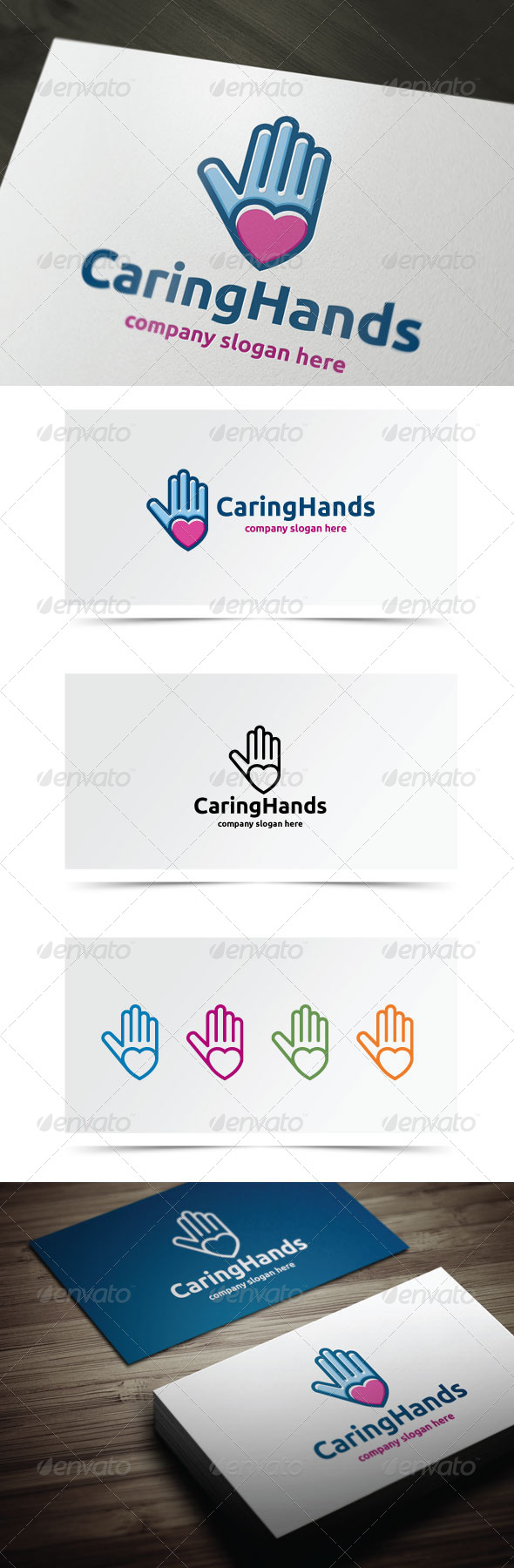 GraphicRiver Caring Hands 7501677