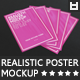 Realistic Poster Mockup - GraphicRiver Item for Sale