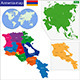 Armenia Map - GraphicRiver Item for Sale