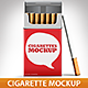 Cigarette Package Mock-Up - GraphicRiver Item for Sale
