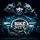Bike Nite Flyer Template - GraphicRiver Item for Sale