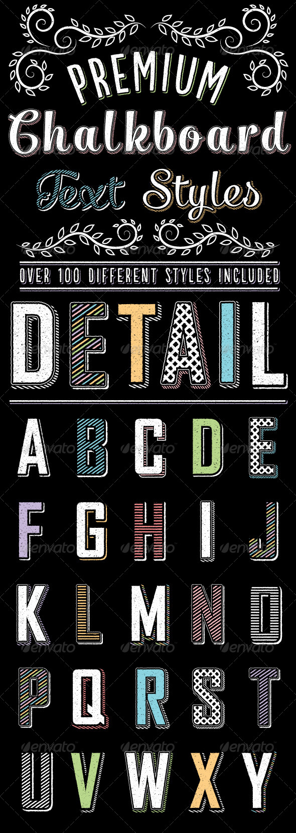 GraphicRiver Premium Chalk Text Styles 7502114
