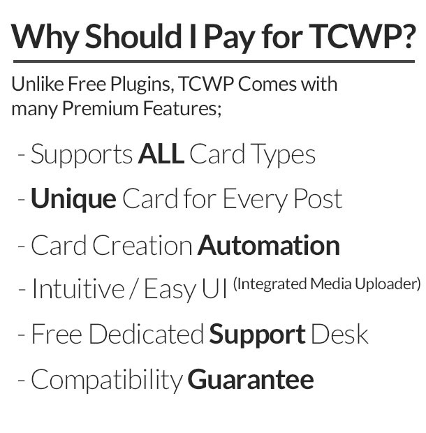 TCWP – Supercharged Twitter Card Management for WP