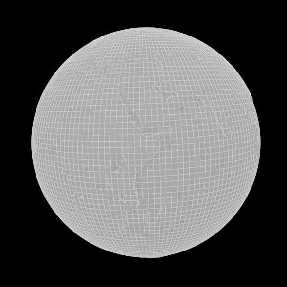 3DOcean Real Earth 7502146