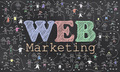 Web Marketing on Blackboard - PhotoDune Item for Sale