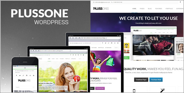 Plussone - WordPress Business Theme