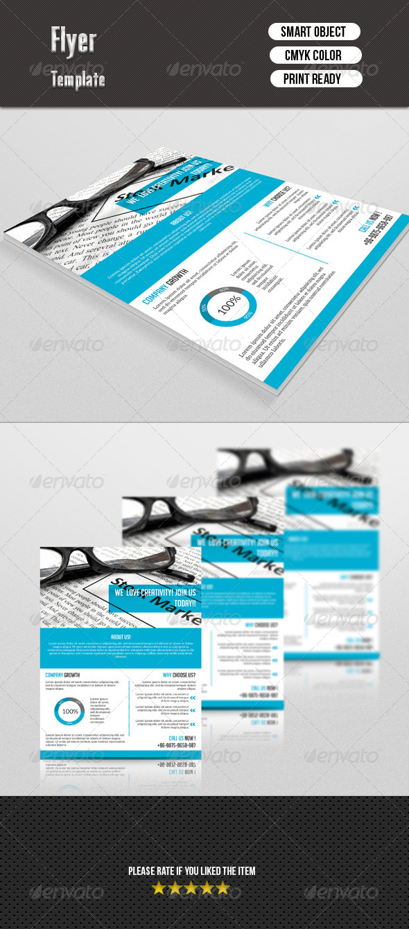 GraphicRiver Corporate Flyer 7502930