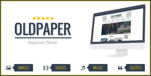 OldPaper-Ultimate-Magazine-Blog-Theme