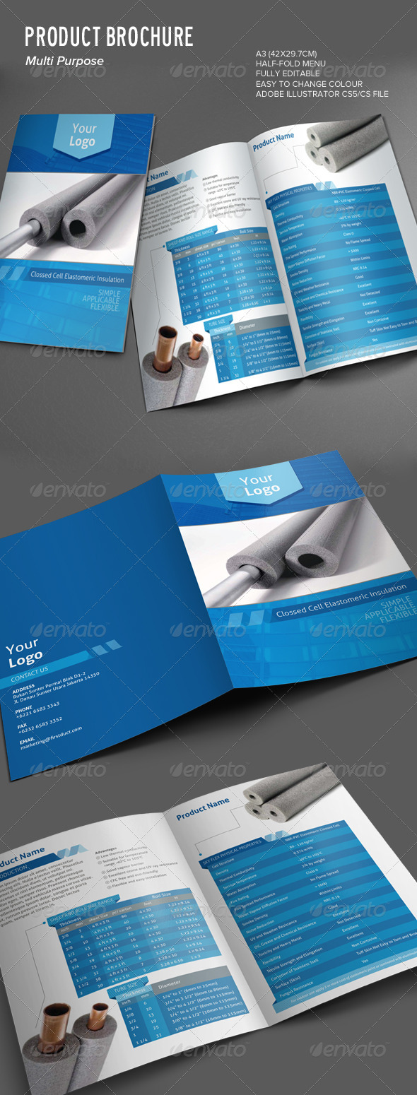GraphicRiver Product Brochure 7503715