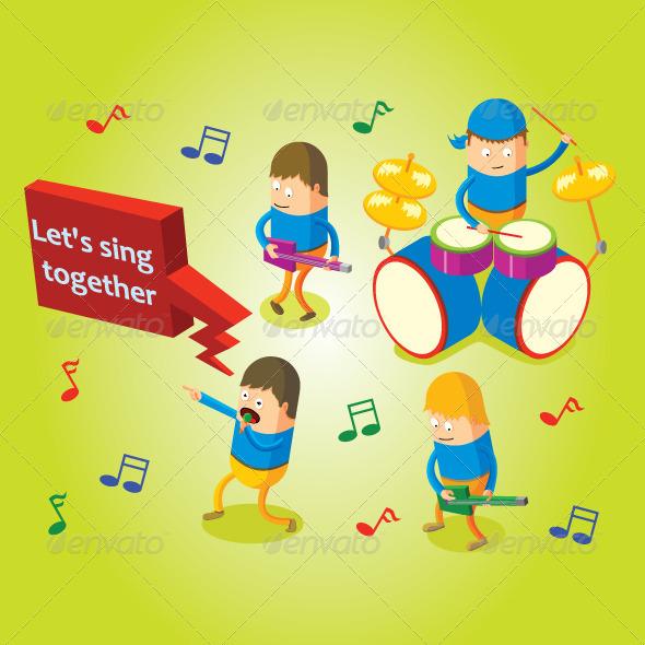 GraphicRiver Music Band 7503825