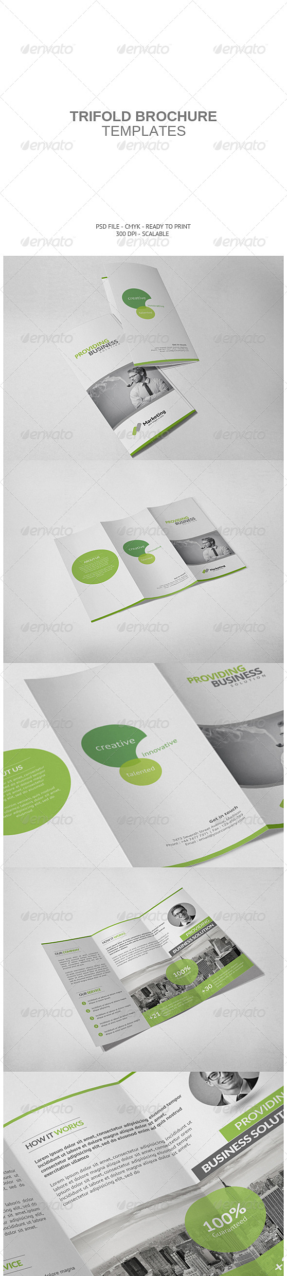 GraphicRiver Corporate Tri-fold Brochure 7504400