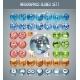 Infographics Globes Set1 - GraphicRiver Item for Sale