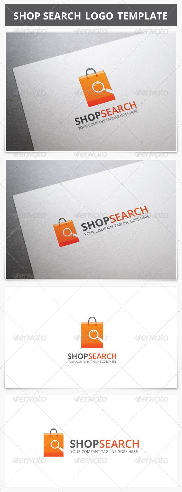 GraphicRiver Shop Search Logo 7505119