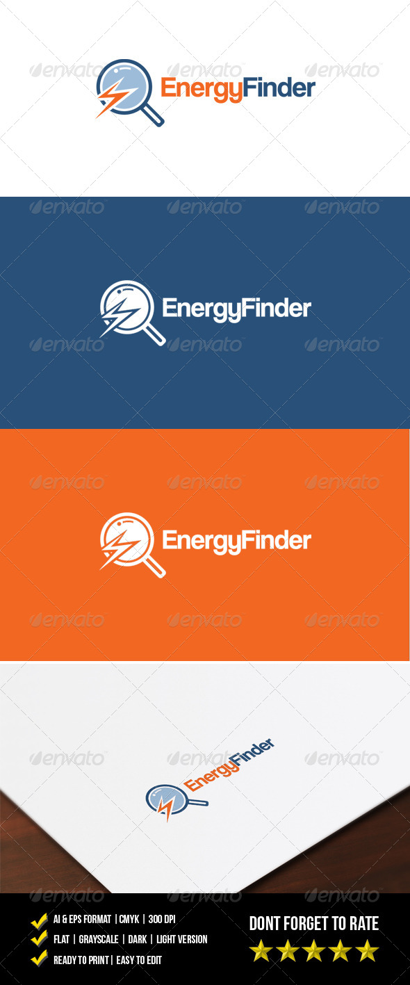 GraphicRiver Energy Finder Logo 7505129