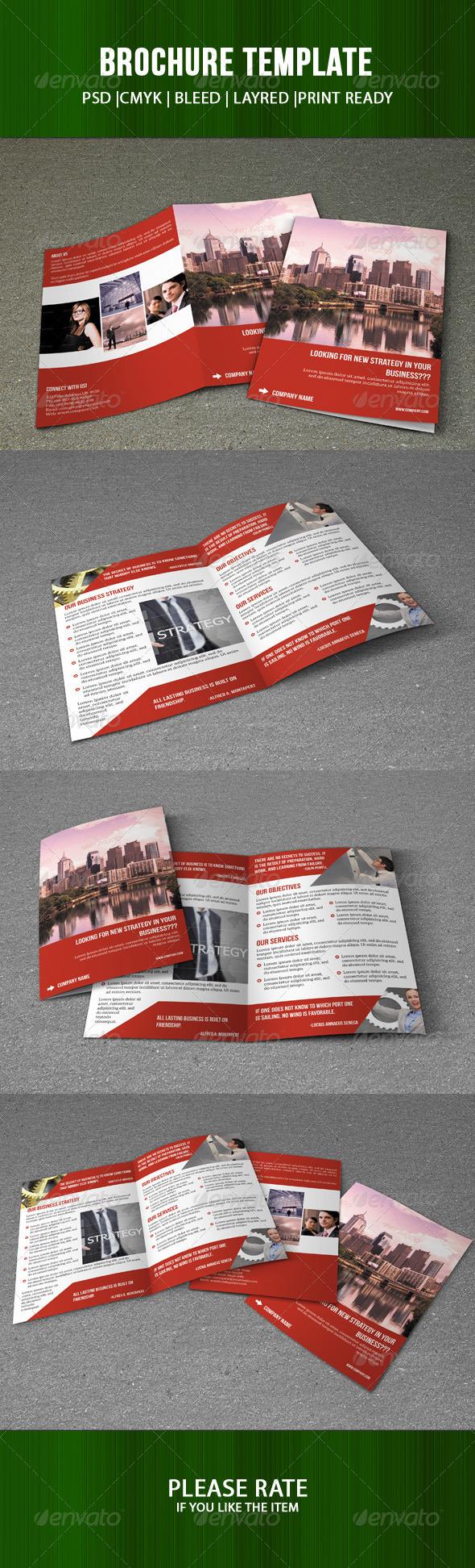 GraphicRiver Corporate Brochure Template 7505164