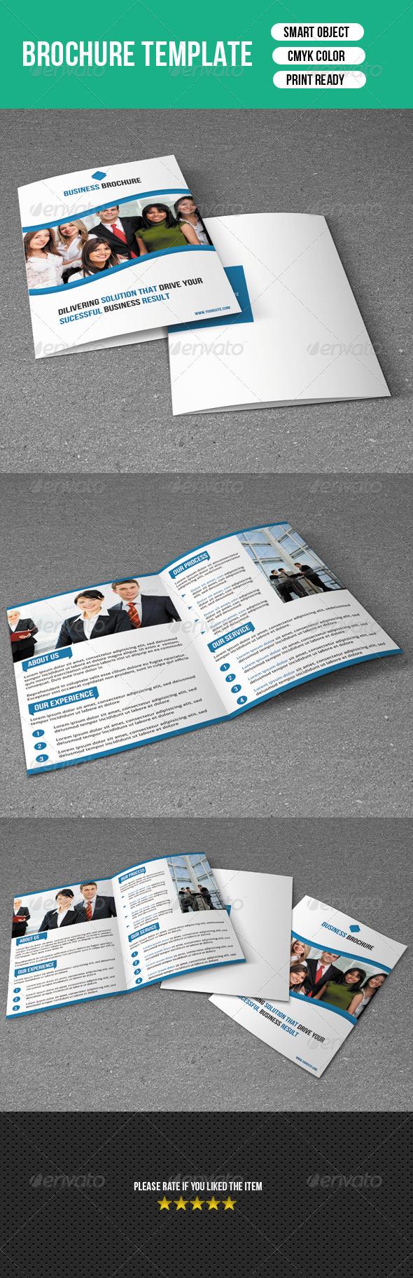 GraphicRiver Bifold Brochure Template 7505177