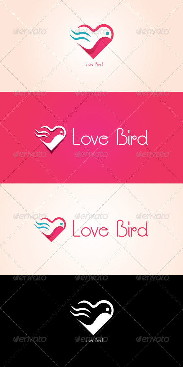 GraphicRiver Love Bird Stock Logo Template 7505254