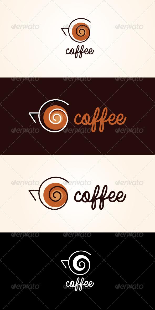 GraphicRiver Coffee Stock Logo Template 7505331