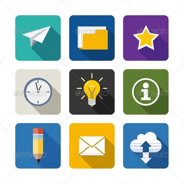 GraphicRiver Web Icons 7505334