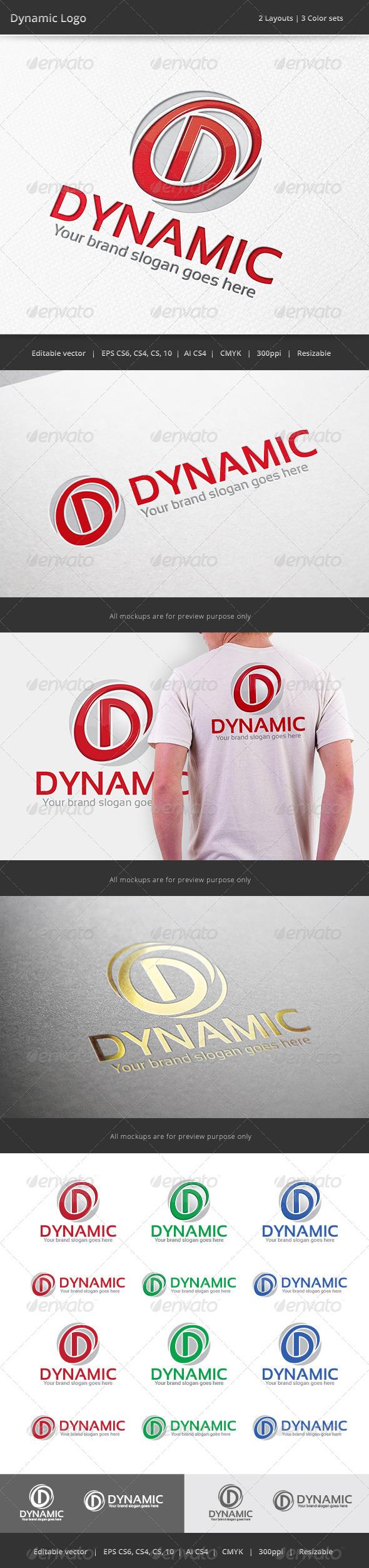 GraphicRiver Dynamic Letter D Logo 7505370