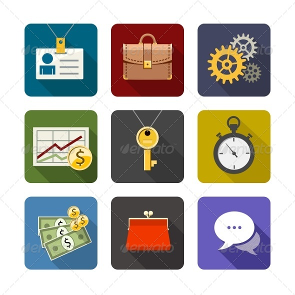 GraphicRiver Business Icons 7505412