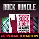 Rock Night Poster/Flyer Bundle N.001 - GraphicRiver Item for Sale