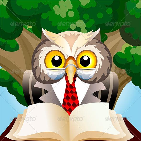 GraphicRiver Eagle Owl 7505826