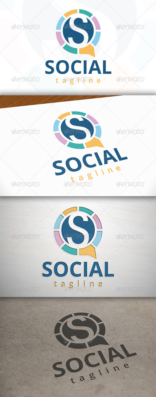 GraphicRiver Social S Letter Logo 7505980