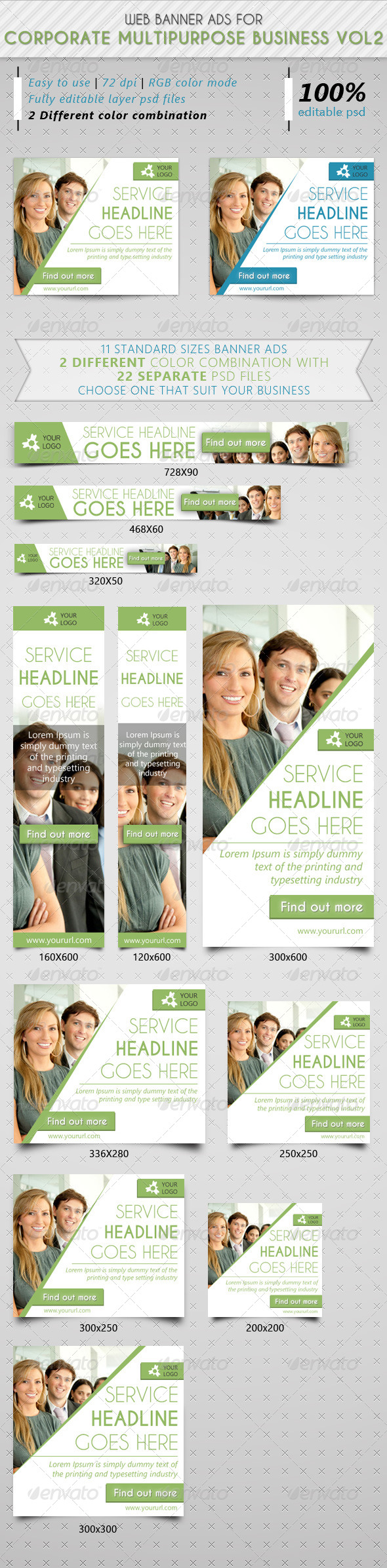 GraphicRiver Corporate Multipurpose Business Ads Vol2 7501367