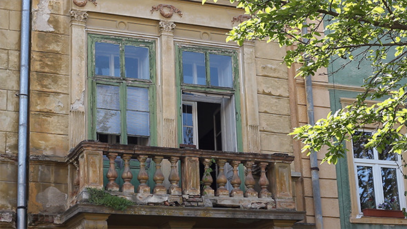 Old Baroque Balcony