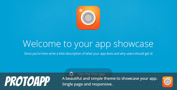 ProtoApp - Responsive Single Page App Showcase