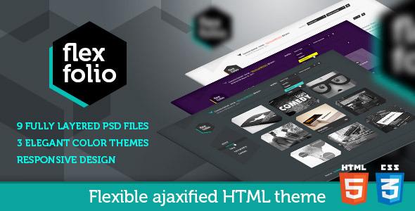FlexFolio: Responsive HTML Portfolio