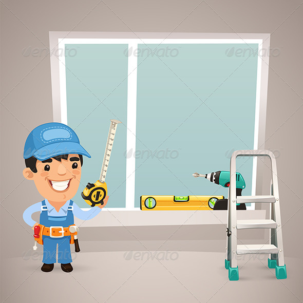 GraphicRiver Worker is Installing the Window 7504331