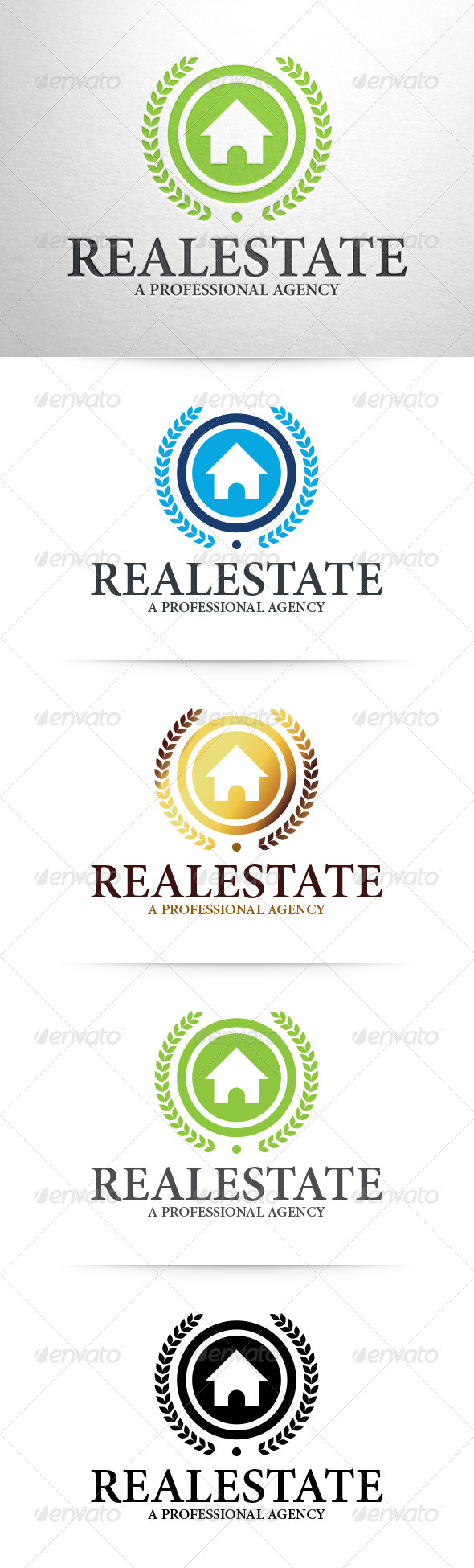 GraphicRiver Real Estate Logo Template 7506602