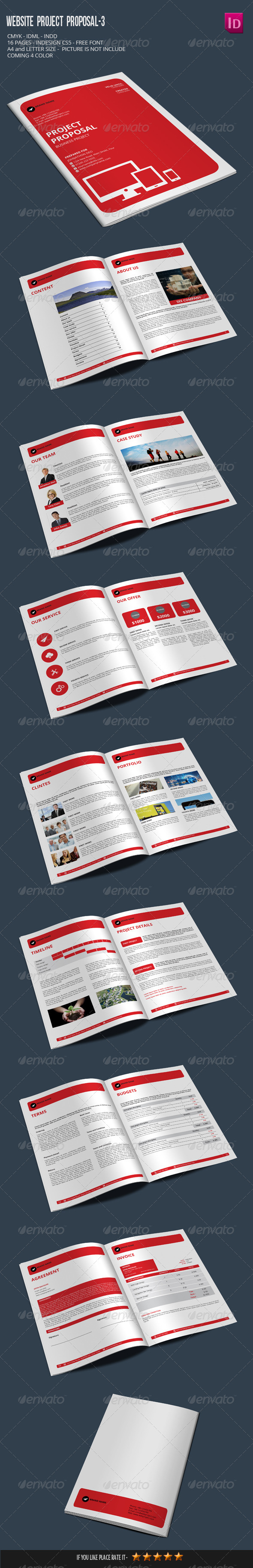 GraphicRiver Website Project Proposal-3 7506612
