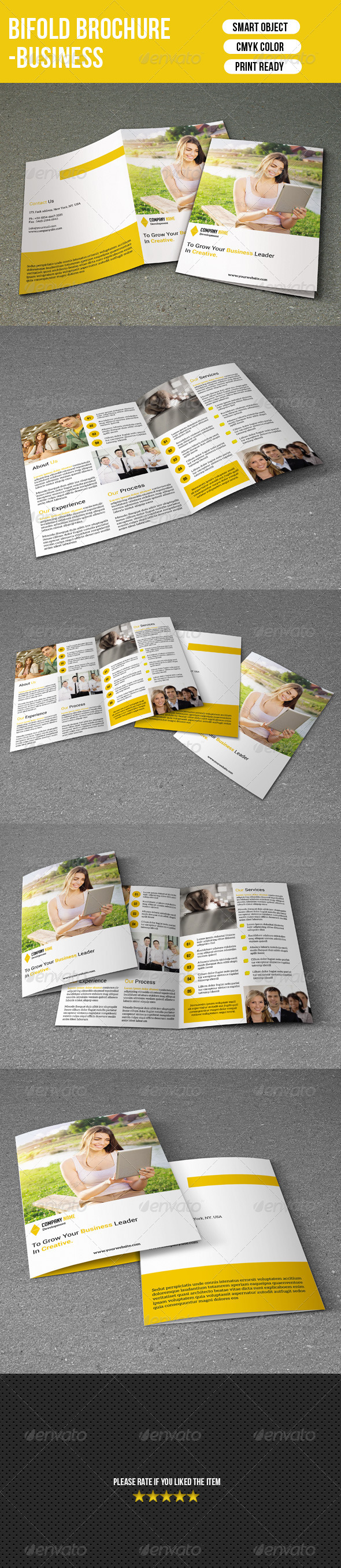 GraphicRiver Business Brochure Template 7506866