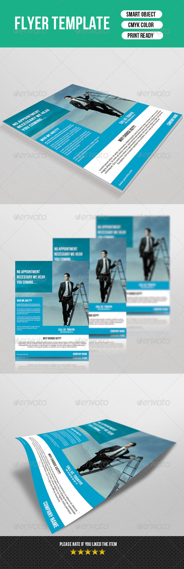GraphicRiver Business Flyer Template 7506872
