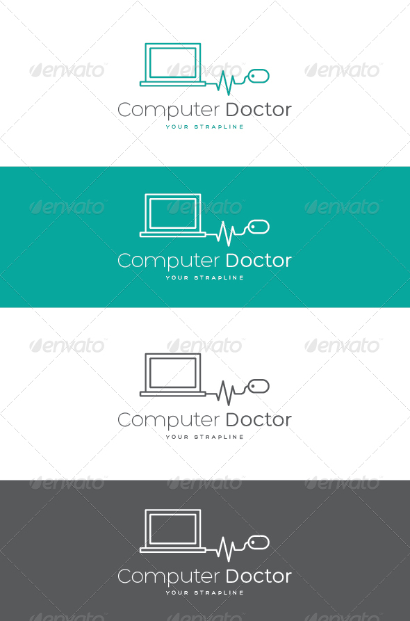 GraphicRiver Computer Doctor Logo 7506900
