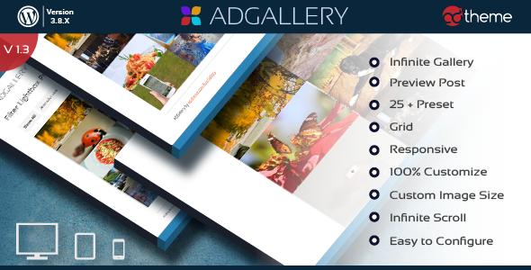 AD Gallery - Premium WordPress Plugin - CodeCanyon Item for Sale