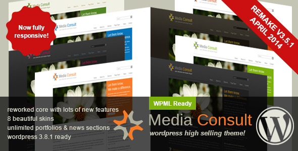 Media Consult - Business Wordpress Theme -