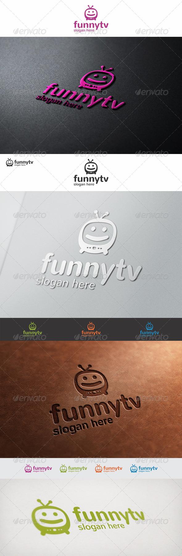 GraphicRiver Funny TV Logo 7507901