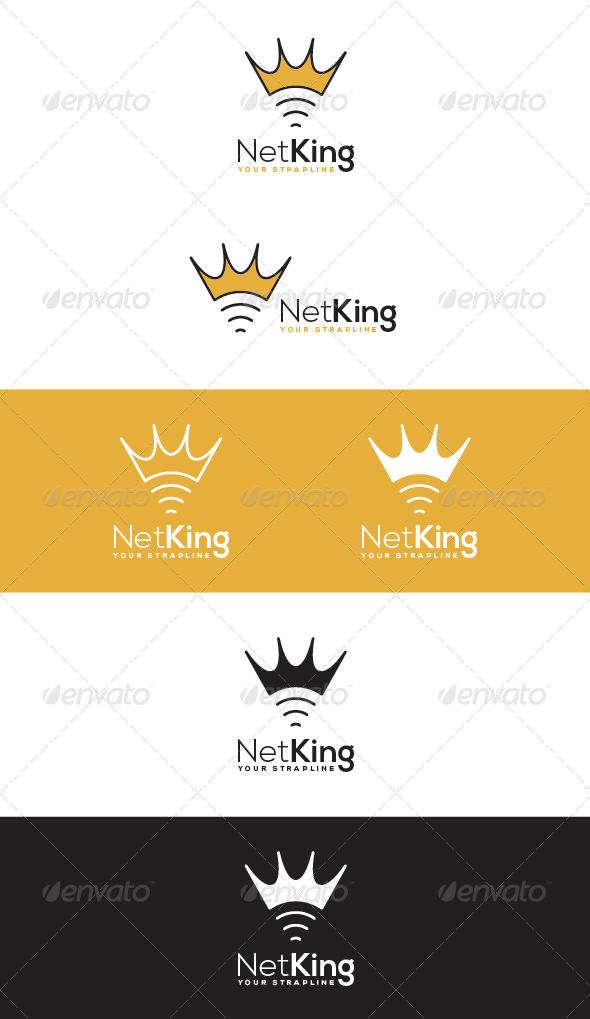 GraphicRiver Net King Logo 7508422
