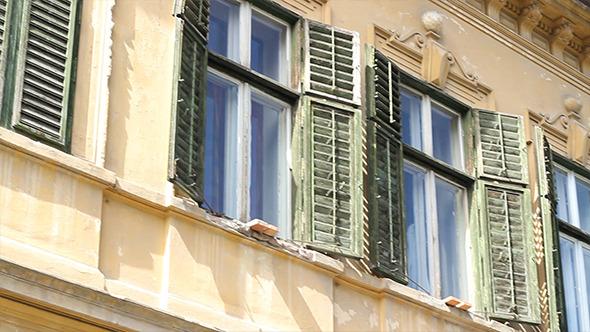 Old Damaged Windows