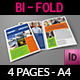 Logistics Services Bi-Fold Brochure Vol.2 - GraphicRiver Item for Sale