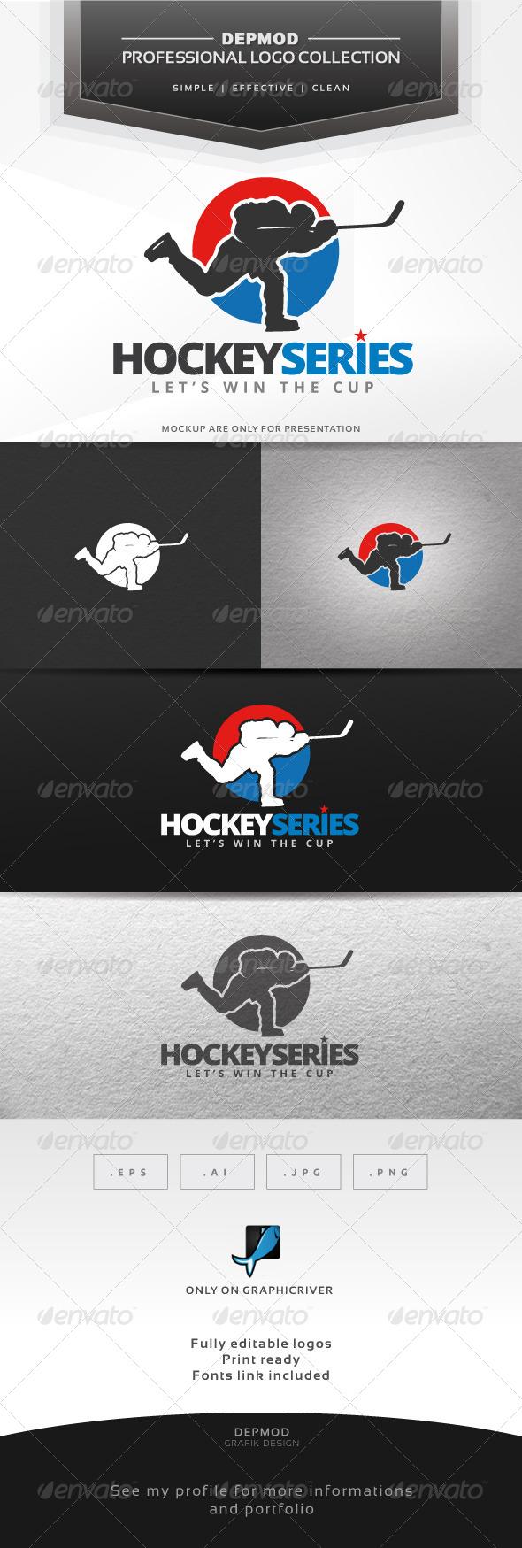 GraphicRiver Hockey Series Logo 7508767
