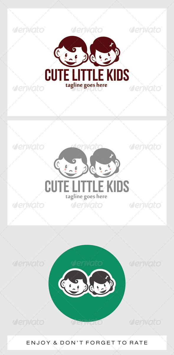 GraphicRiver Cute Little Kids Logo 7508768