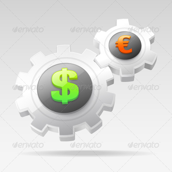 GraphicRiver Currency Gears 7508769